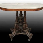 Victorian Marble Table